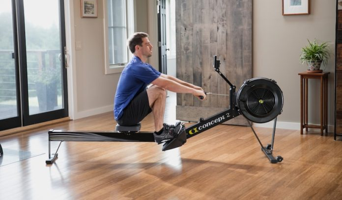 The Model D rowing machine