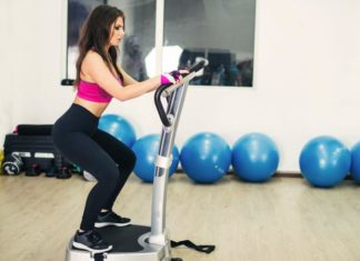 body vibration machine and muscles