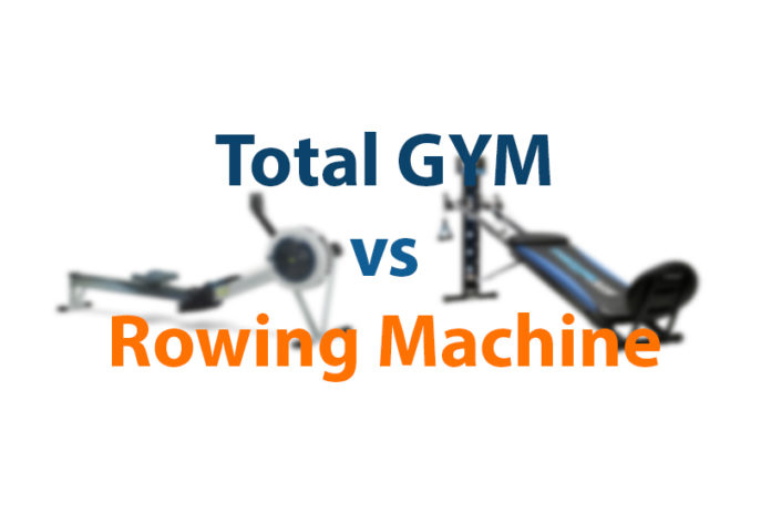 total gym vs rowing machine