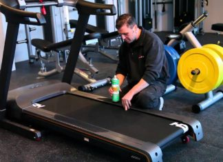 How to lubricate a treadmill belt