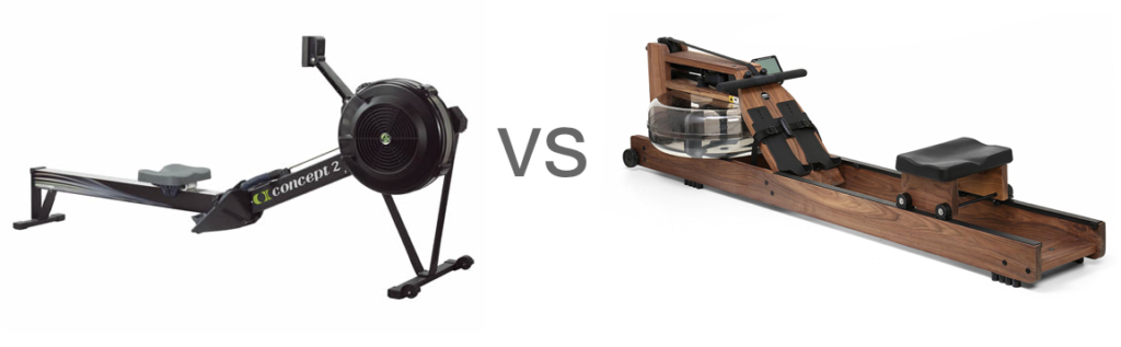 Concept 2 Vs WaterRower