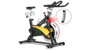GoPlus Magnetic Belt Drive Bike with 30 lb review