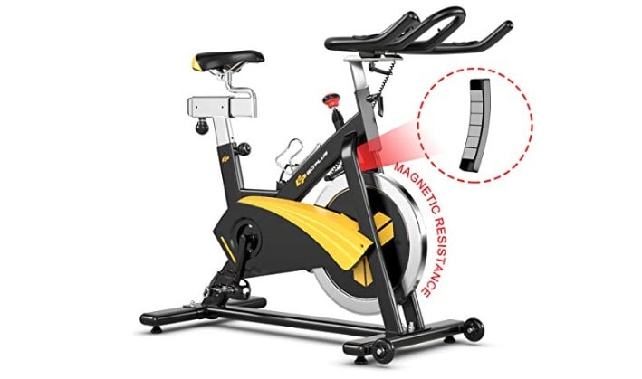 Goplus Exercise Magnetic Bike